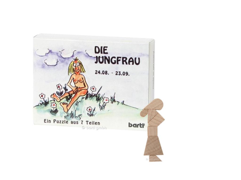 sternzeichen jungfrau mini puzzle ba2659. Black Bedroom Furniture Sets. Home Design Ideas